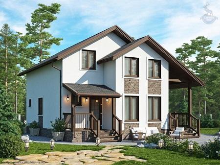 Каркасно-монолитный дом