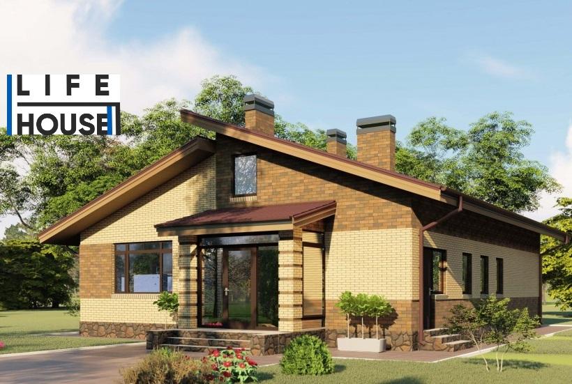 Кирпичный дом КР-145