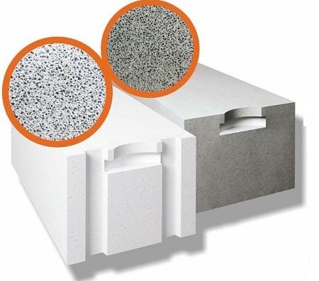 Блоки из газосиликата и газобетона