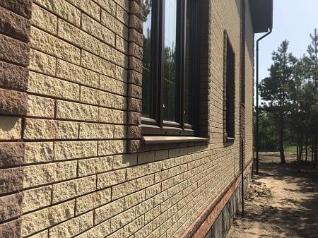Фасады из гиперпрессованных плиток