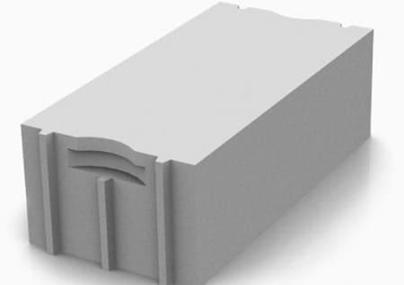 Блок из газобетона