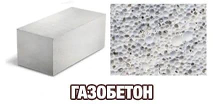 газобетон