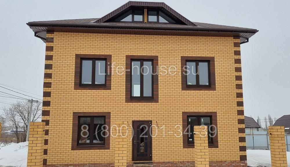 Двухэтажный коттедж 190 кв м