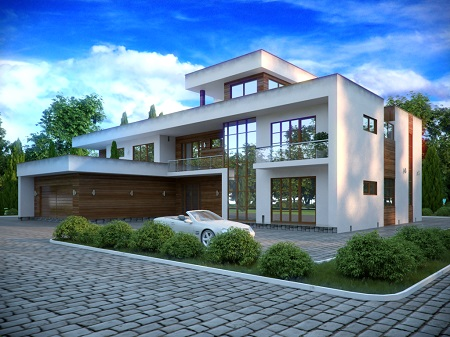 фото дома в современном стиле