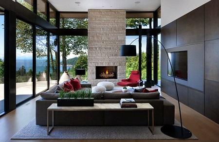 фото Интерьера современного дома